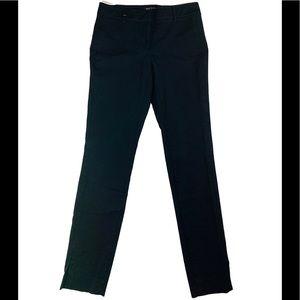 WHBM Black slim leg pants size 2R